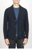 SBU 00911 Veste stretch en laine élastique blue 01