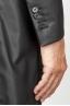 SBU 00920 Trench-coat en coton imperméable noir classique 06