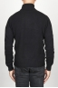 SBU 00951 Classic turtleneck sweater in black cashmere 04