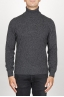 SBU 00952 Classic turtleneck sweater in grey cashmere 01