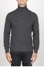 SBU 00952 Jersey de cuello alto en cachemir gris 01