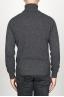 SBU 00952 Jersey de cuello alto en cachemir gris 04