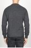 SBU 00955 灰色のカシミアブレンドのクラシッククルーネックセーター 04