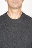SBU 00955 Classic crew neck sweater in grey cashmere blend 05
