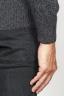 SBU 00955 Classic crew neck sweater in grey cashmere blend 06