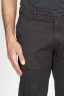 SBU 00966 Pantaloni chino classici in cotone stretch nero 06