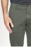 SBU 00971 Pantaloni chino classici in cotone stretch verde 06