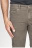 SBU 00976 Jeans velluto millerighe stretch sovratinto marrone chiaro 06
