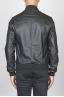 SBU 00448 Classic flight jacket in black calf-skin leather 04