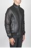 SBU 00450 Classic flight jacket in black lambskin leather 02