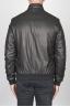 SBU 00450 Classic flight jacket in black lambskin leather 04
