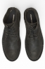 SBU 00991 Classic high top desert boots in black oiled leather 04