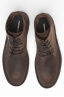 SBU 00992 Classic high top desert boots in brown oiled leather 04