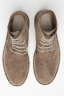 SBU 00993 Classic high top desert boots in beige oiled leather 04