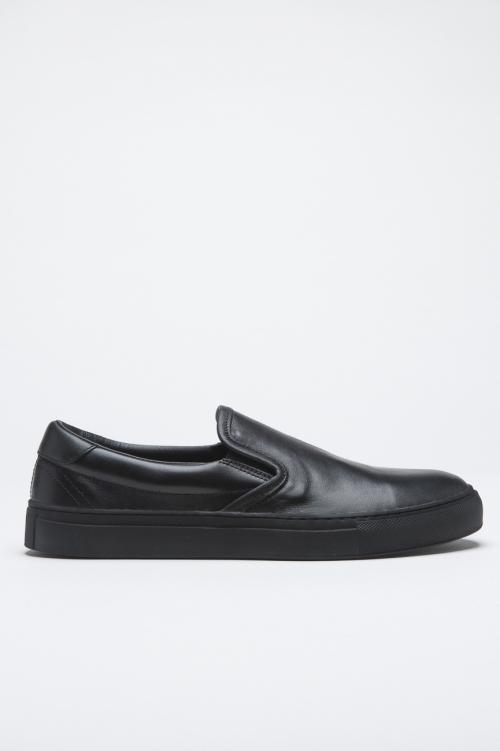 Original slip on in black leather