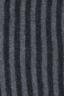 SBU 01018 クラシックなストライプ冬のスカーフ,カシミアブレンド黒とグレー 06