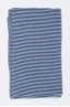 SBU 01019 Classic striped winter scarf in cashmere blend light blue and grey 02