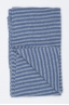 SBU 01019 Classic striped winter scarf in cashmere blend light blue and grey 03