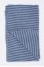 SBU 01019 Echarpe d'hiver rayée classique en cachemire mélange bleu clair et gris 03