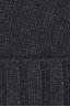 SBU 01025 Berretto classico di cashmere grigio 05