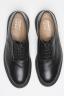 SBU 01034 Zapato negro tricker para sbu liso con suela de goma  04