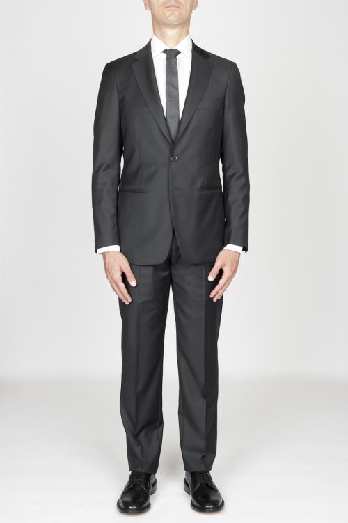 SBU 01036 Mens grey cool wool formal suit blazer and trouser 01