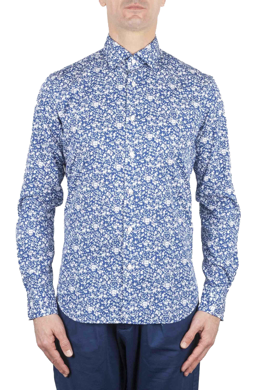 SBU 01069 Camisa clásica floral 01