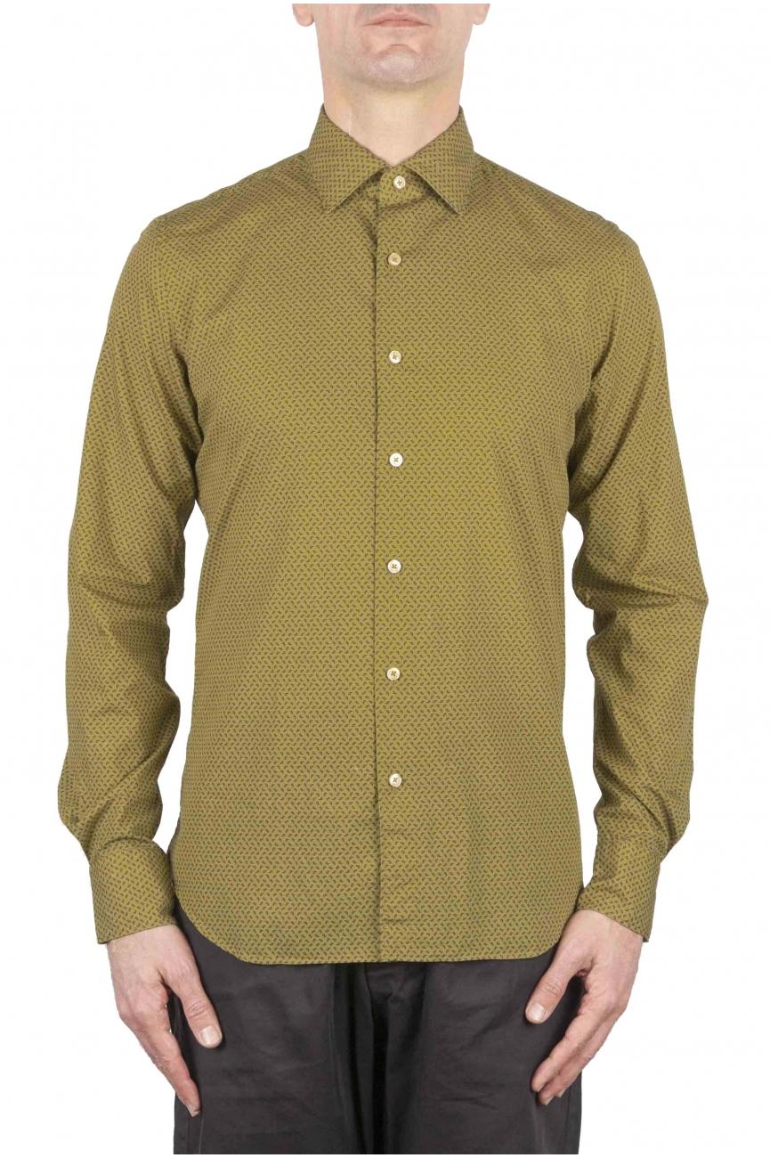 SBU 01070 Patterned classic shirt 01