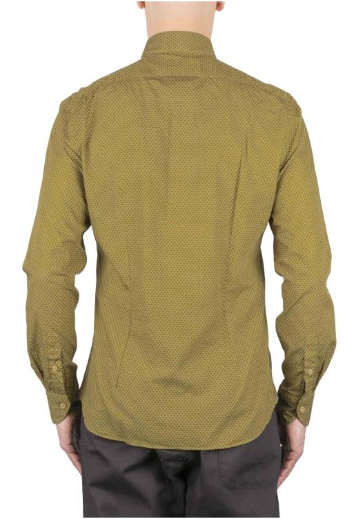 Clásica camisa micro estampada