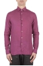 SBU 01078 Camisa de lino slim fit 01