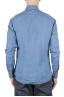 SBU 01081 Camicia slim fit in lino 04