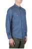 SBU 01085 Denim western shirt 02