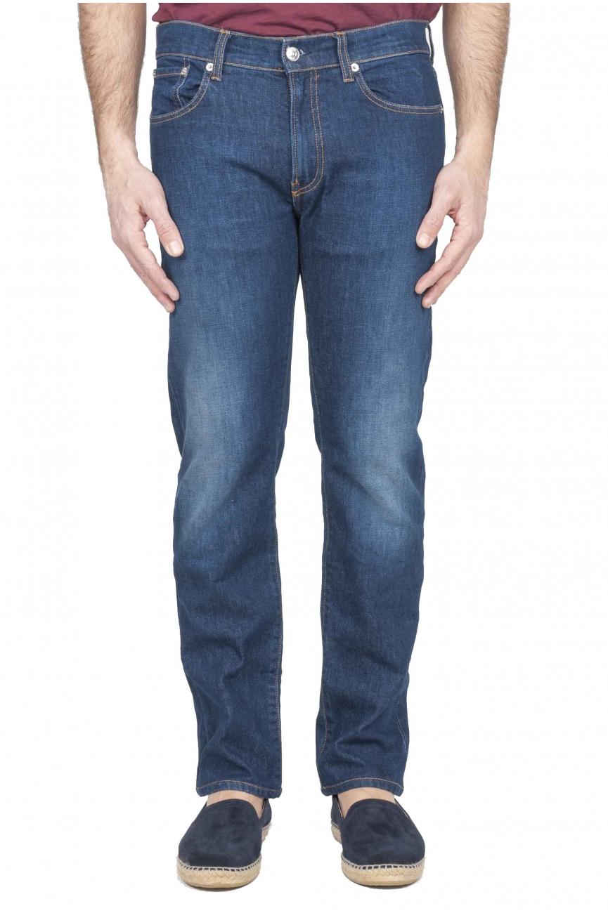 SBU 01121 Stretch denim blue jeans 01