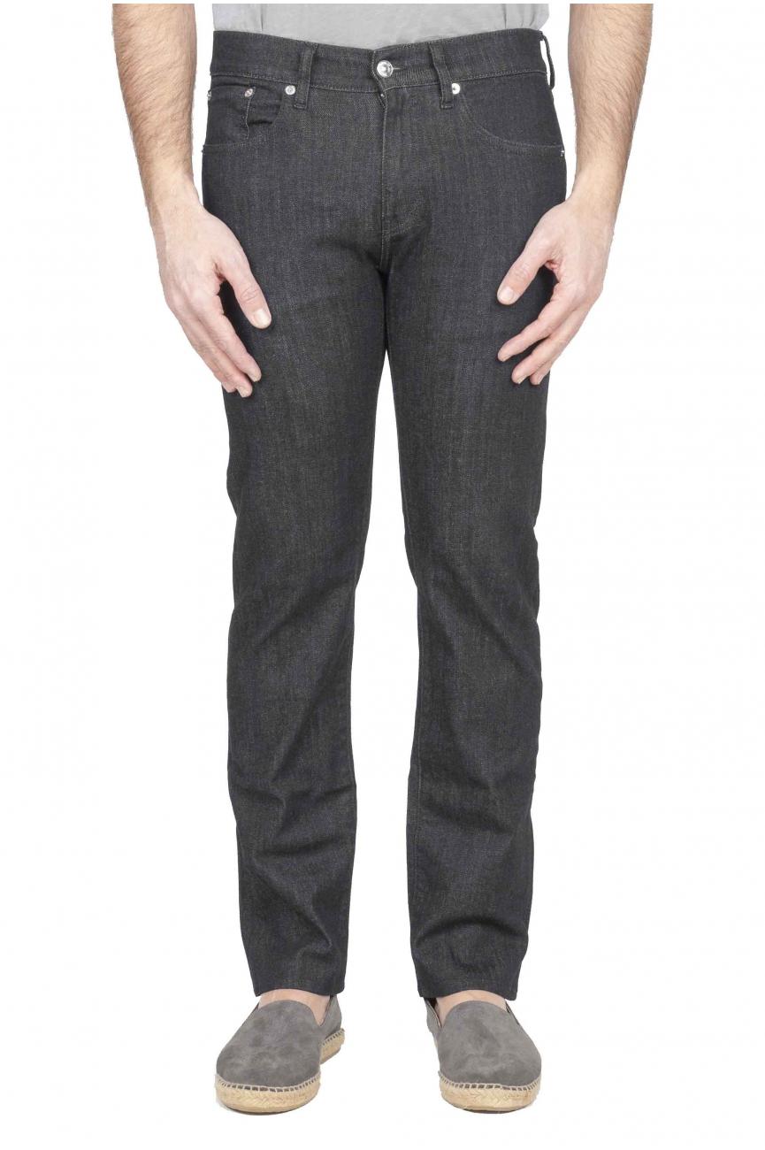 SBU 01124 Cotton denim blue jeans 01