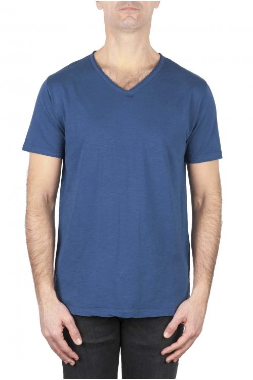 SBU 01158 Camiseta con cuello en v slim fit 01