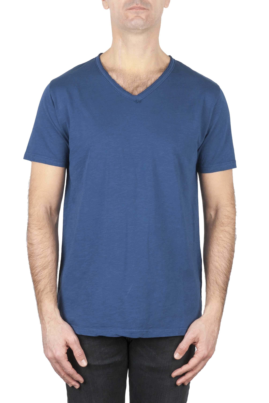 SBU 01158 Slim fit v neck t-shirt 01