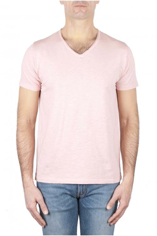 SBU 01160 Camiseta con cuello en v slim fit 01