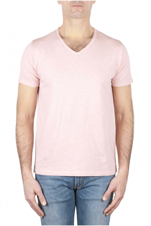 SBU 01160 T-shirt scollo v slim fit 01
