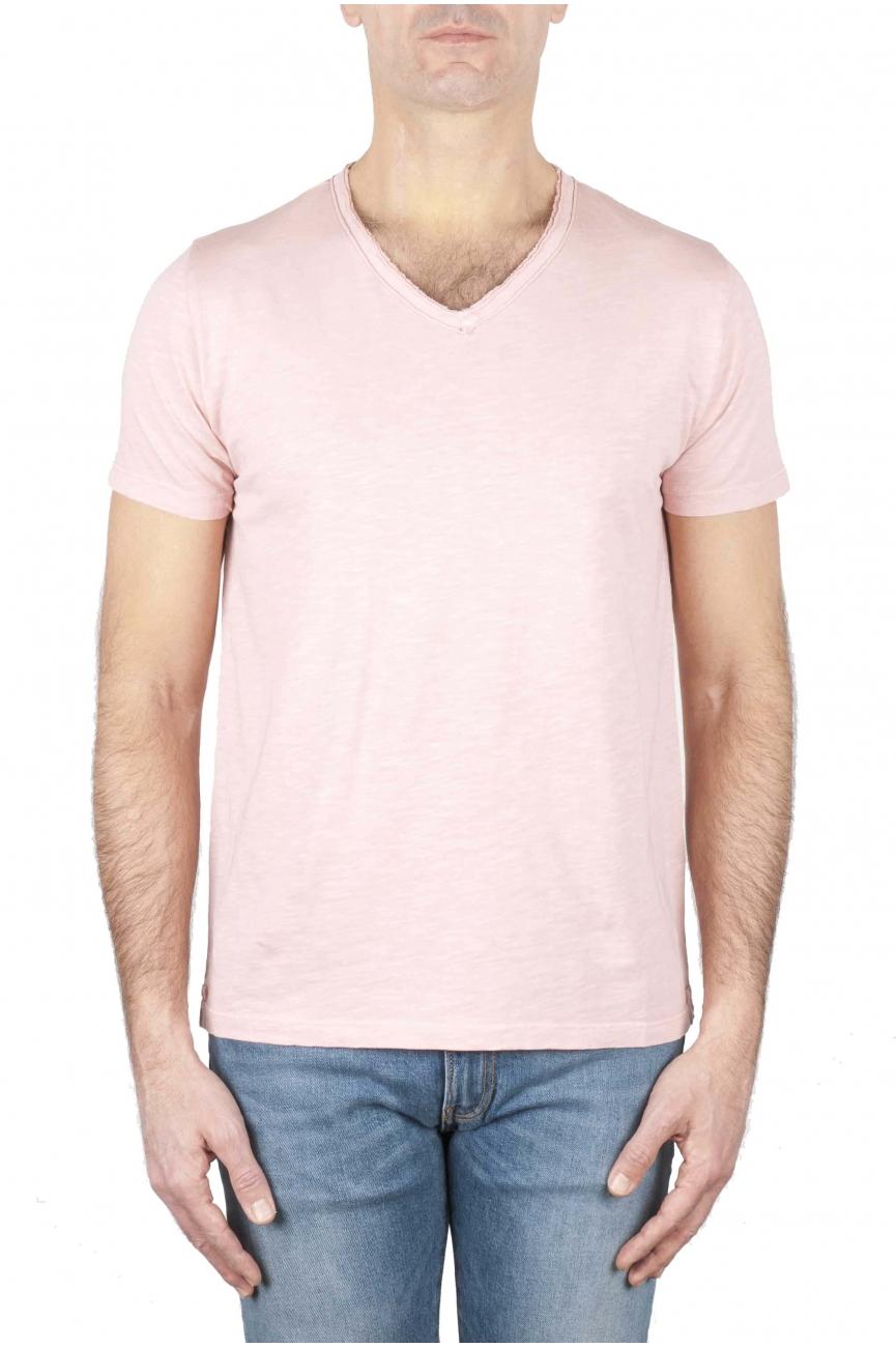 SBU 01160 T-shirt scollo v slim fit 01