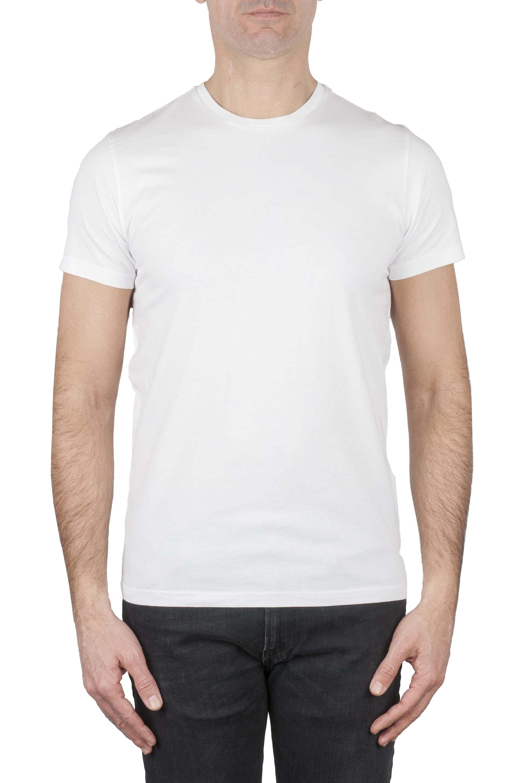 SBU 01162 Classic short sleeve cotton round neck t-shirt white 01