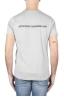 SBU 01164 Clásica camiseta de cuello redondo gris manga corta de algodón 04