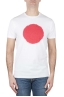SBU 01170 Classic short sleeve cotton round neck t-shirt red and white printed graphic 01