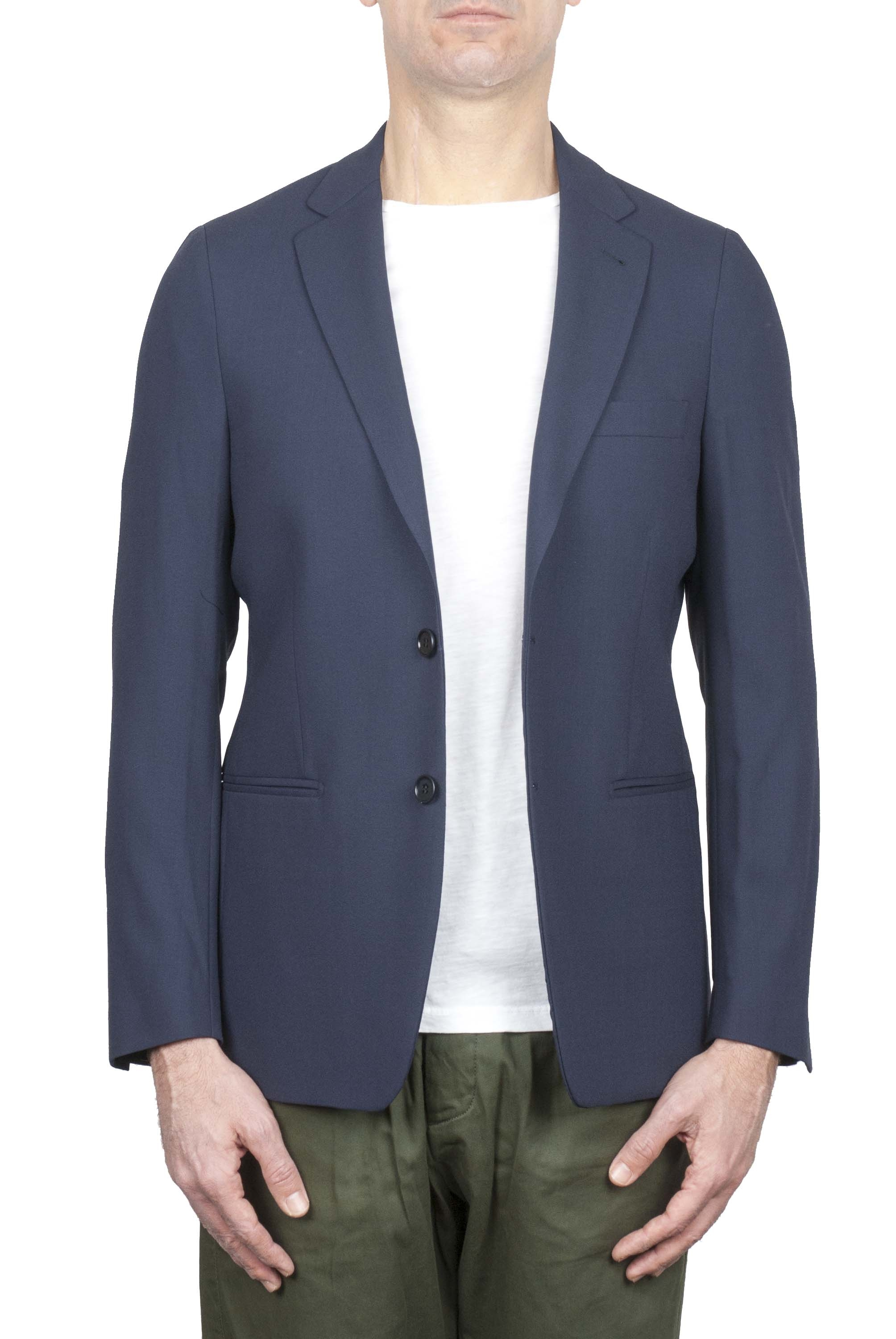 SBU 01173 Single breasted unstructured blazer 01