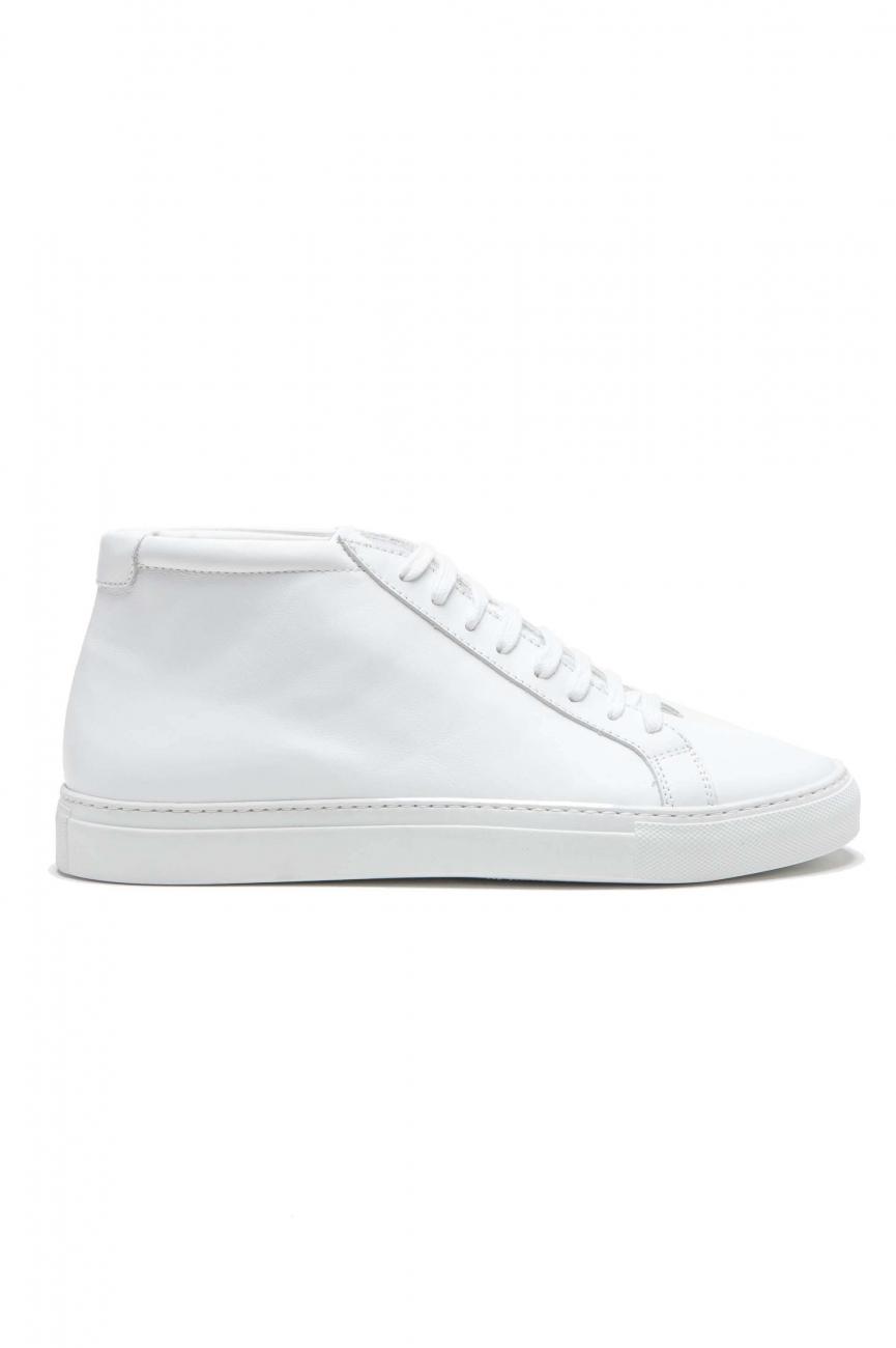 SBU 01178 Sneakers classiche alte in pelle 01