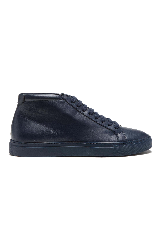 SBU 01179 Zapatillas clásicas mid-top en piel de becerro 01