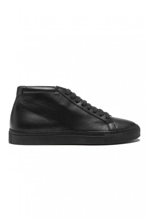 SBU 01180 Sneakers classiche alte in pelle 01