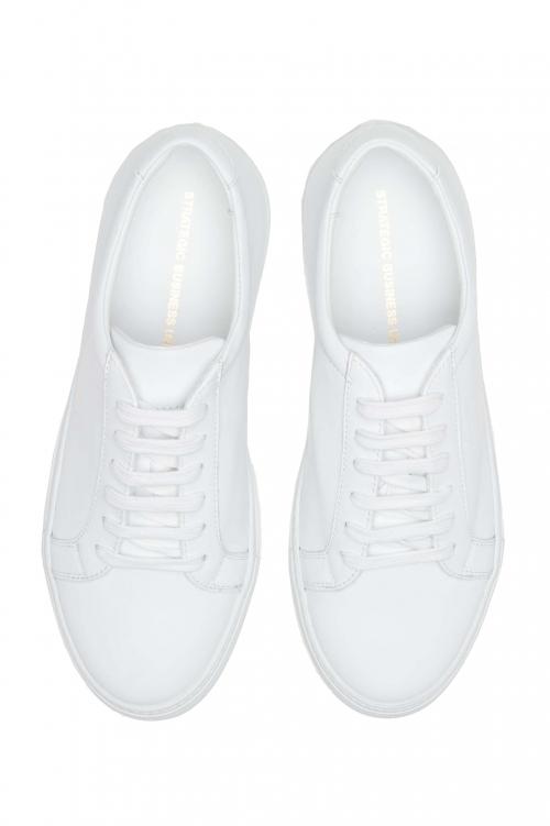 SBU 01181 Classic leather mid-top sneaker 01