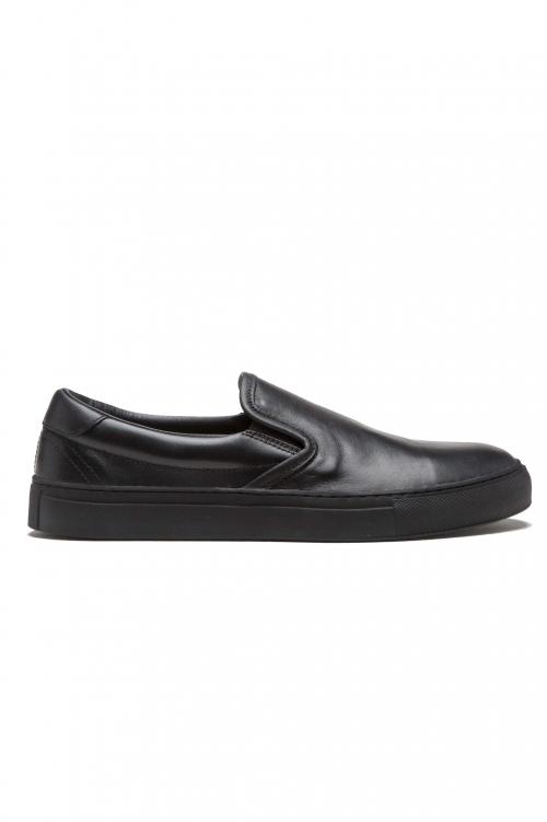 SBU 01184 Slip-on classiche in pelle 01
