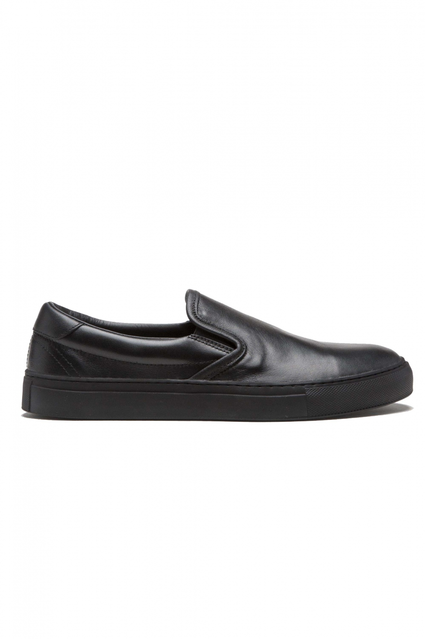 SBU 01184 Original slip on en cuero  01