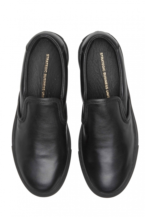 SBU 01184 Classic leather slip-on 01